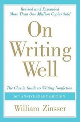 On Writing Well 30th edition 9780060891541 0060891548