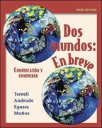Dos mundos en breve Student Edition with Bind-In Passcode 3rd edition 9780073213415 0073213411
