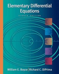 Elementary Differential Equations, with ODE Architect CD 8th edition 9780471433392 047143339X