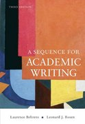 A Sequence for Academic Writing 3rd edition 9780321456816 0321456815