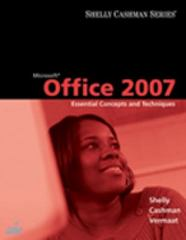 Microsoft Office 2007 1st edition 9781418843748 1418843741