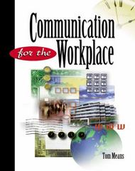 Communication for the Workplace 1st edition 9780538723220 053872322X