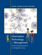 Information Technology for Management 6th edition 9780471787129 0471787124
