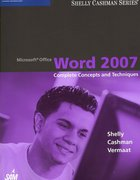 Microsoft Office Word 2007: Complete Concepts and Techniques 1st edition 9781418843373 1418843377