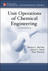 Unit Operations of Chemical Engineering 7th edition 9780072848236 0072848235