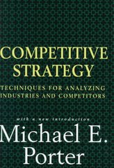 Competitive Strategy 2nd Edition 9780684841489 0684841487