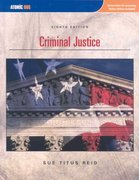 Criminal Justice 8th edition 9781426627279 1426627270