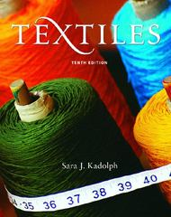 Textiles 10th edition 9780131187696 0131187694