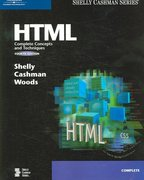 HTML: Complete Concepts and Techniques, Fourth Edition 4th edition 9781418859367 1418859362