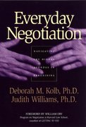 Everyday Negotiation 1st Edition 9780787965013 0787965014