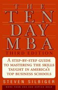 The Ten-Day MBA 3rd Ed. 3rd Edition 9780061793172 0061793175