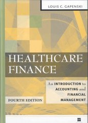 Healthcare Finance 4th edition 9781567932805 1567932800