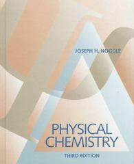 Physical Chemistry 3rd edition 9780673523419 0673523411
