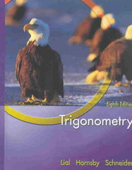 Trigonometry 8th Edition 9780321227362 0321227360
