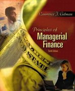 Principles of Managerial Finance 10th edition 9780201784794 0201784793