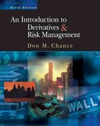 An Introduction to Derivatives and Risk Management 6th edition 9780324178005 032417800X