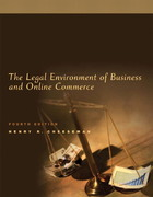 The Legal Environment of Business and Online Commerce 4th edition 9780131465336 0131465333