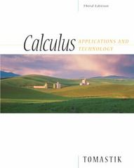 Calculus 3rd Edition 9780534464967 0534464963