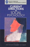 Current Directions in Social Psychology 2nd edition 9780131895836 0131895834