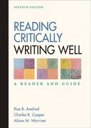 Reading Critically, Writing Well 7th edition 9780312414771 0312414773