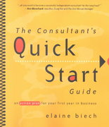 The Consultant's Quick Start Guide 1st edition 9780787956677 0787956678