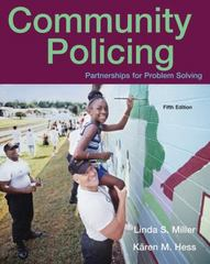 Community Policing 5th edition 9780495095446 0495095443