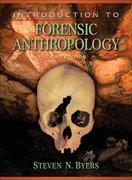Introduction to Forensic Anthropology 3rd edition 9780205512294 0205512291