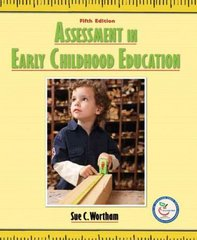 Assessment in Early Childhood Education 5th edition 9780132329149 013232914X