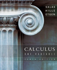 Calculus: One Variable 10th edition 9780470073339 0470073330