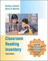 Classroom Reading Inventory with Teacher Resource CD-ROM and Inventory Administration Kit 10th edition 9780072878479 0072878479