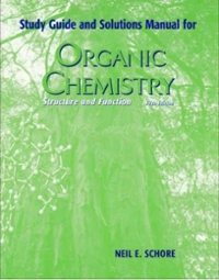 Organic Chemistry Study Guide with Solutions Manual 5th edition 9780716761723 0716761726
