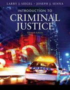 Introduction to Criminal Justice 11th edition 9780495095415 0495095419