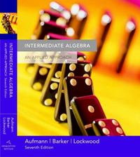 Intermediate Algebra 7th edition 9780618503087 0618503080