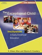 The Exceptional Child 5th Edition 9781401835965 1401835961