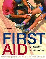First Aid for Colleges and Universities 9th edition 9780805346251 0805346252