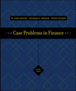 Case Problems in Finance with Excel Templates 12th edition 9780072977295 0072977299