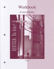 Workbook to accompany Deutsch: Na klar! An Introductory German Course 5th edition 9780073278094 0073278092