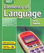 Elements of Language 4th edition 9780030686641 0030686644