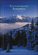 Environmental Economics 4th Edition 9780073137513 0073137510