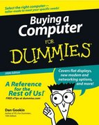 Buying a Computer For Dummies 2006th edition 9780764598180 076459818X
