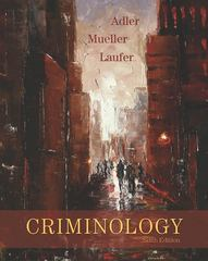 Criminology 6th edition 9780073124469 007312446X