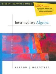 Intermediate Algebra 4th edition 9780618753529 0618753524
