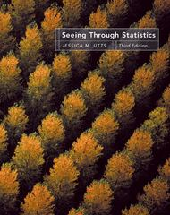 Seeing Through Statistics (with CD-ROM and InfoTrac) 3rd edition 9780534394028 0534394027