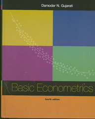 Basic Econometrics 4th edition 9780072478525 0072478527