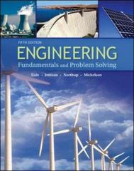 Engineering Fundamentals and Problem Solving 5th edition 9780073191584 0073191582