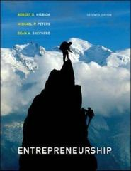 Entrepreneurship 7th Edition 9780073210568 0073210560