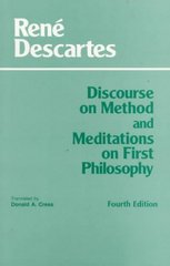 Discourse on Method and Meditations on First Philosophy 4th Edition 9780872204201 0872204200