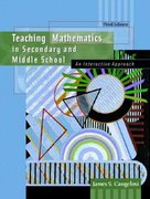Teaching Mathematics in Secondary and Middle School 3rd edition 9780130950185 0130950181