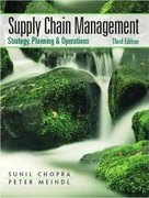 Supply Chain Management 3rd edition 9780131730427 0131730428