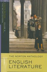 The Norton Anthology of English Literature, The Major Authors 8th edition 9780393928310 0393928314